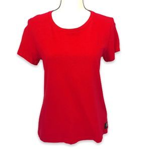 Calvin Klein Jeans red cap sleeve t-shirt  L